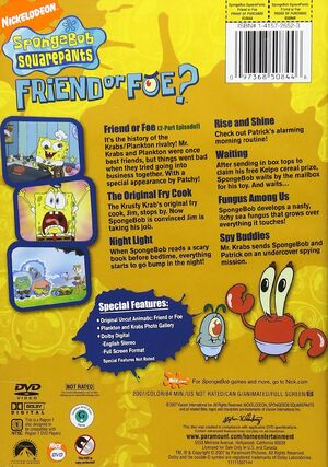 Friend or Foe DVD Back Cover