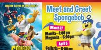 Robinsons Movieworld: Meet and Greet SpongeBob