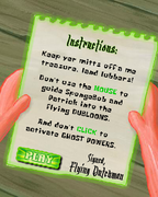 Ghostly Gold Grab instructions