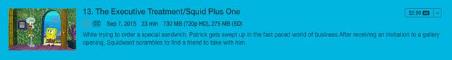 File:SpongeBob SquarePants Episode 191 on iTunes.png