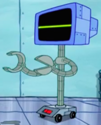 SpongeBob SquarePants Karen the Computer Arms-9