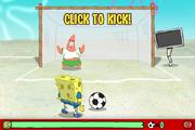 SpongeBob's Soccer Shoutout - Click to kick!