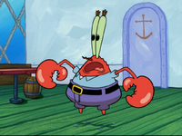 Mr. Krabs in A Pal for Gary-1
