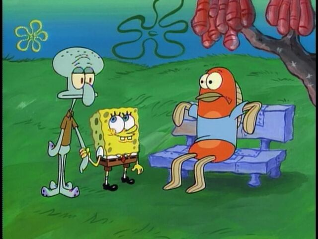 File:Squidward, Spongebob, & Frank.jpg