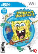 Spongebob SquigglePants Video Game cover
