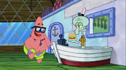 Patrick and Squidward in 191a