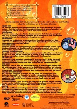 Halloween DVD Back Cover