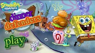 SpongeBob SquarePants - Dinner Defenders