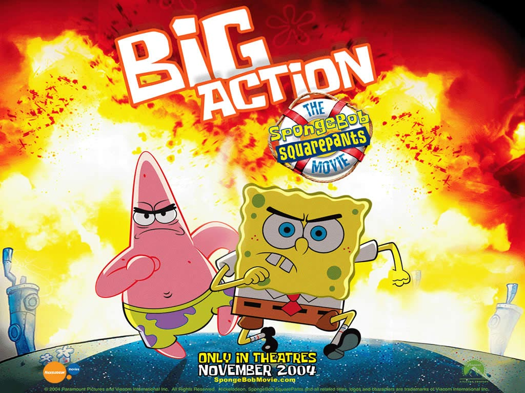 image the spongebob squarepants movie poster jpg encyclopedia