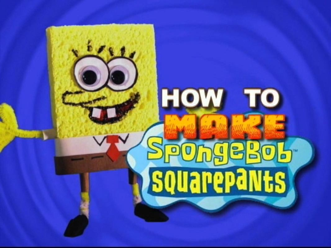how to make spongebob squarepants gallery encyclopedia