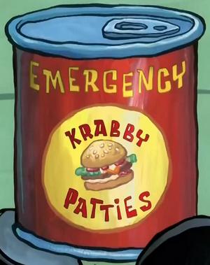 Emergency Krabby Patties