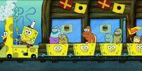 The Krusty Sponge Fun Train