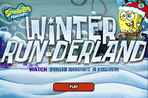 Spongebob Winter RUN-erland