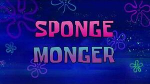 SpongeBob Music Sponge Monger