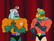 Mermaid Man & Barnacle Boy VI The Motion Picture 034