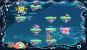 Lights Out Patrick Spongebob in a bubble