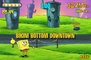 Picture Day Disaster bikini bottom downtown