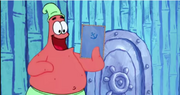 Patrick Star Checks His Instaclam 01