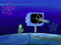 SpongeBob SquarePants Karen the Computer Telescope