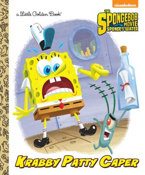 Krabby Patty Caper Cover