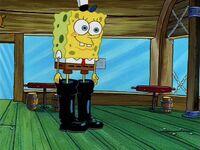 Im danccin lake a boot