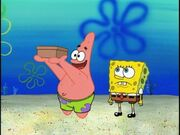 Its the deecewe box spongebb