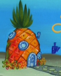SpongeBob's pineapple house in Season 4-2