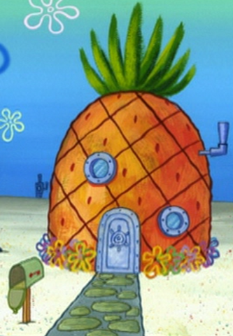 File:SpongeBob's pineapple house in Season 4-10.png