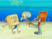 Squidward Tentacles in Sun Bleached-12