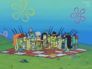 Plankton's Ancestors and Cousins
