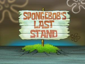 SpongeBob's Last Stand