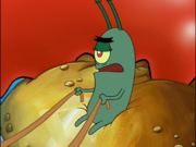 Plankton in Krusty Krab Training Video-8