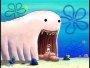 Alaskan Bull Worm, Sandy, & Spongebob