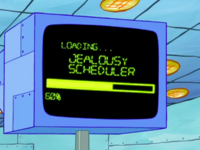 SpongeBob SquarePants Karen the Computer Loading-3