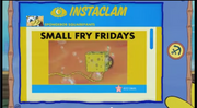 SpongeBob Checks His Instaclam 13