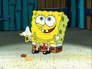 Spongebob, Penny, Chip, & Used Napkin