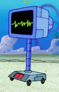 SpongeBob SquarePants Karen the Computer Blue
