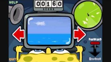 SpongeBob's Bumper Subs gameplay