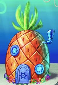 SpongeBob's pineapple house in The SpongeBob SquarePants Movie