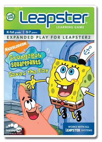 File:Leapster - SpongeBob SquarePants Saves The Day.jpg