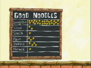 Good Noodles board