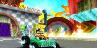 Extreme Racer SpongeBob