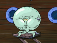 Squidward in Beast Form