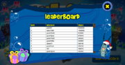 Gift Lift - Leaderboard