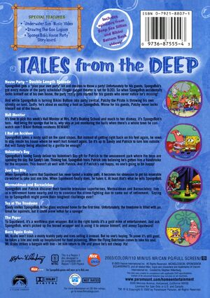 Tales From the Deep Back Cover