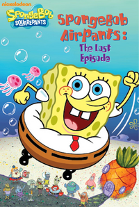 SpongeBob AirPants Book - Reprint cover