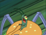 Plankton in Krusty Krab Training Video-2