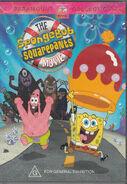 The SpongeBob SquarePants Movie Australian DVD