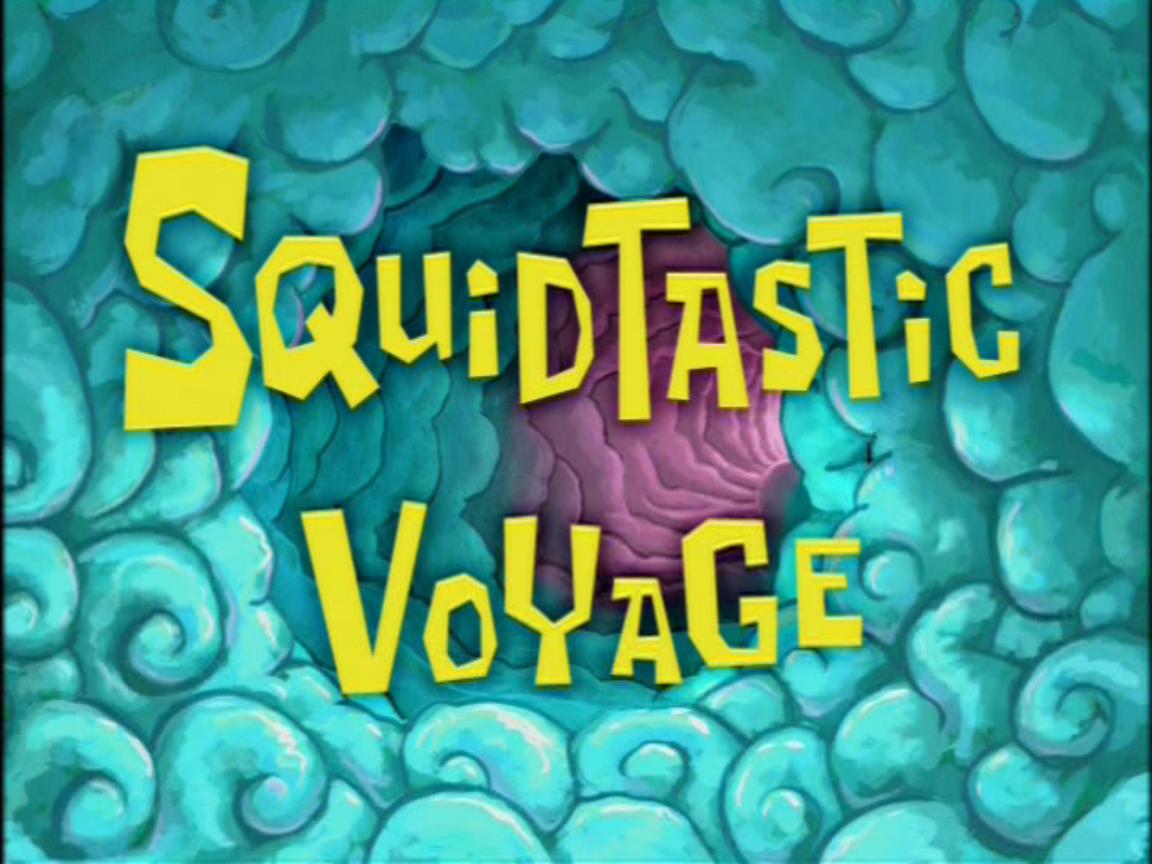 squidtastic voyage encyclopedia spongebobia fandom powered by