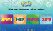 How well do you know SpongeBob SquarePants? - Question 5